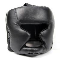 MMA Headgear Head Guard Training Kick Boxing Protector Martial Gear Face Helmet
