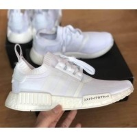 designer fashion c8b96 09324 รองเท้า Adidas NMD R1 PK Triple White Japan ของแท้ (1184038617)
