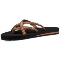 291532b88 Teva รองเท้าแตะผู้หญิง Teva Women s Olowahu Flip Flops 6840-LBWN (Lindi  Brown)  สินค้าลิขสิทธิ์แท้ (1603117615)