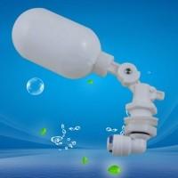 Float Ball Valve Shut Off Automatic Fill Feed Aquarium Fish Tank RO Water Osmosis System Adjustable Mini Float Ball Valve - intl