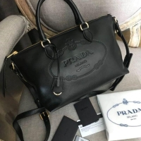 ราคา PRADA Borsa A Mano Glace Calf Leather Bag (1525288036) 9255fde08e