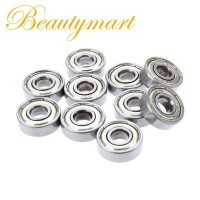 Deep Groove Ball Bearing High Quality 6201z Bearing Steel Deep Groove Ball Bearing 12mm for Industrial 10Pcs