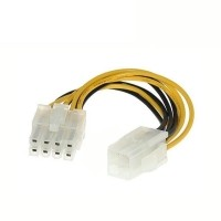 ATX 4 Pin Male to 8 Pin Female EPS CPU Power Converter Cable Lead Adapter 12V